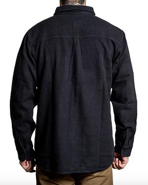 Veste Chemise Phantom Sullen Clothing Vue de Dos