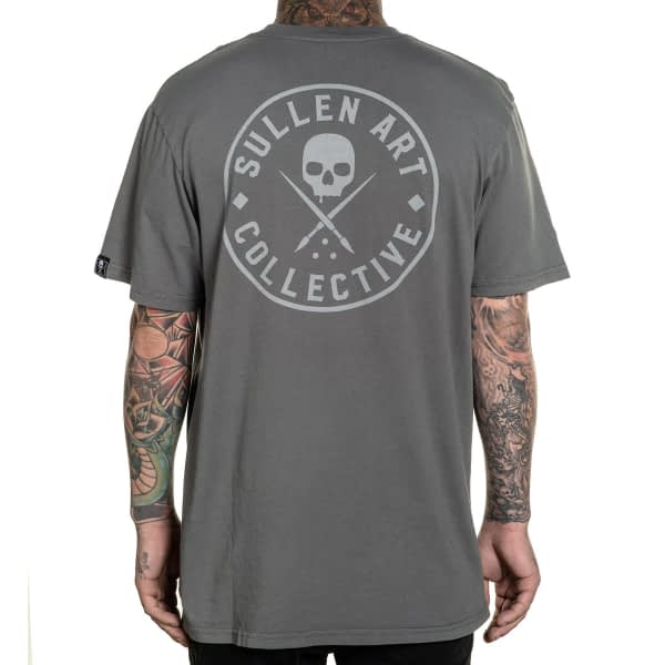 tee shirt premium badge Ever sullen clothing vue de dos