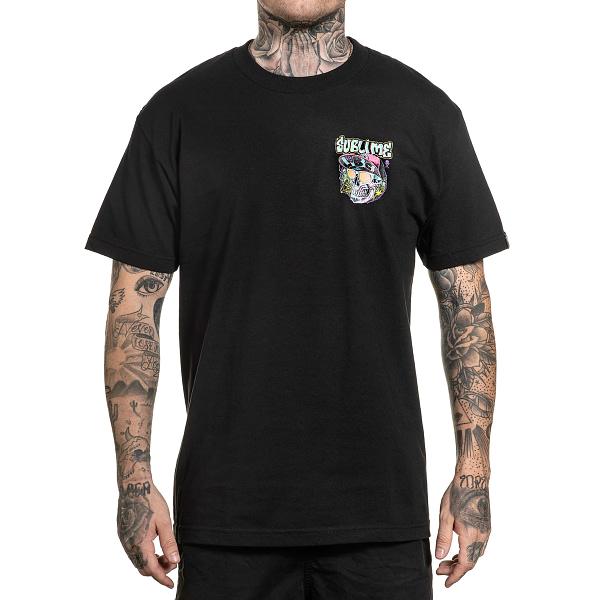 tee shirt classique collaboration sullen et sublime vue de face