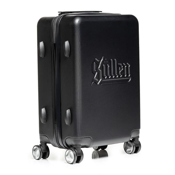 valise cabine Blaq PAq Rhino noir vue Trois quart
