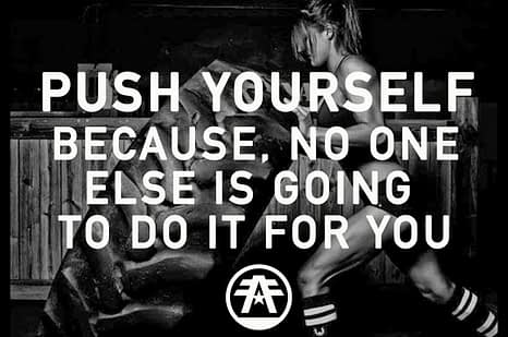 American Fighter Europe - Push yourself - crossfit