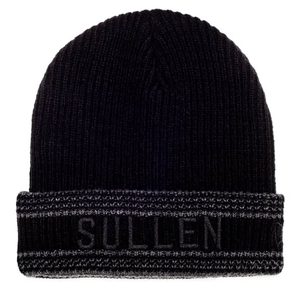 Bonnet Noir Sullen New Era vue de face