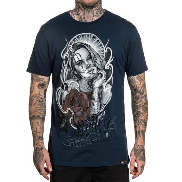 premium tee sullen art collective - artist series Pelavacas ink vue de face