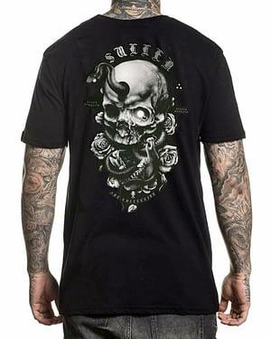 tee shirt Niclas Serpent Sullen Art collective vue de dos