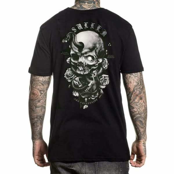 tee shirt Niclas Serpent Sullen Art collective vue de dos