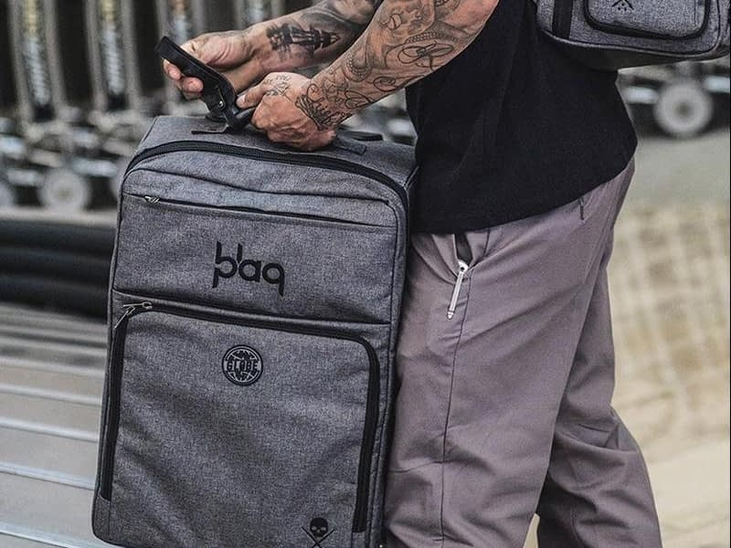 BlaqPaqGlobe Traveler Lifestyle Sullen Globe edition