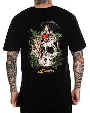 Tee Shirt Homme Sullen Clothing Modèle Blaq Sunshine Noir