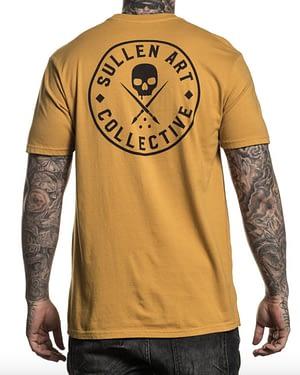 Tee Shirt Ever en Moutarde vue de Dos